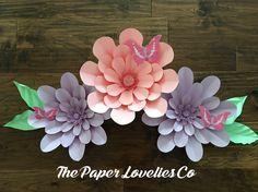 Pastel paper flowers Lovelies
