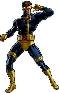 Cíclope EspecialidadRayos ópticos contusivos de energía solar. Inmunidad a los poderes de sus hermanos Afiliaciones actualesX-Men (Equipo Extinción) Afiliaciones anterioresX-Factor X-Terminators The Twelve