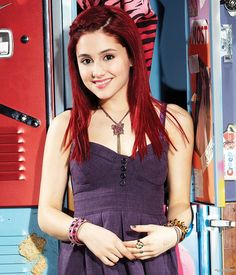 Picture of Ariana Grande in Victorious: (Season - Ariana Grande Victorious, Ariana Grande Gif, Ariana Grande Profile, Ariana Grande Red Hair, Ariana Grande Pictures, Cat Valentine Victorious, Victorious Cat, Sam And Cat, Pretty Little Liars