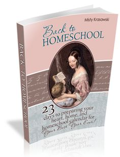 Plan your homeschool year in just 23 days, from Mom Heart Online, now on Amazon for $4.99
