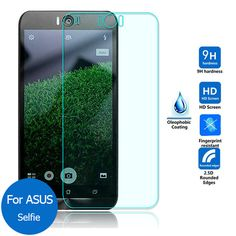 10 pcs/lot New  Tempered Glass Screen Protector Film for Asus ZenFone Selfie ZD551KL Real 9H 2.5D 0.26mm