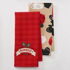 Wintery BundleUp Mittens Kitchen Towel Set 2 Piece 165 X 26 ** See this great product by click affiliate link Amazon.com