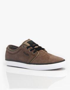 Fallen Forte 2 Skate Shoes - Brown/Black