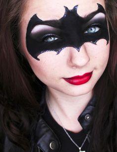The Dark Knight Rises Halloween Makeup