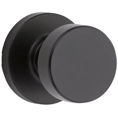 Buy the Kwikset Iron Black Direct. Shop for the Kwikset Iron Black Pismo Passage Door Knob Set with Round Rose and save. Black Door Hardware, Black Doors, Black Door Handles, Knobs And Knockers, Knobs And Handles, Interior Door Knobs, Dark Interior Doors, Door Kits, Modern Door