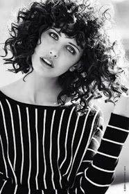 Franja para cabelos cacheados #curlyhair
