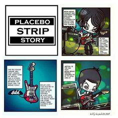 ☆My first comic strip on PLACEBO band...🎸 @placeboworld #placebo #placeboworld #placebo20 #placeboworldtour #aplaceforustodream #placeboband #20yearsplacebo #brianmolko #brianmolkoart #rockbands #alternativerock #punkrocker #placebofans #characterdesigns #punkrock #postpunk #punkrockstyles #music #postpunk #illustrations #illustrationart #illustrationartist #rivermanmanagement #rivermanbangkok #placebostripstory #placebopics