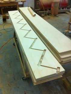Housed stringer Entryway Tables, Stairs, Construction, House, Furniture, Home Decor, Building, Stairway, Decoration Home