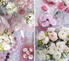 You searched for label/batizado - Lima Limão Roses, Romantic, Table Decorations, Party, Flowers, Parties, Pink, Romantic Things, Rose