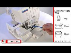 Lewenstein 700 Maintenance I lockmachine overlocker surjeteuse overlock maschinen owerlock - YouTube