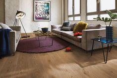 Boen Oak Sandy Grey A perfect blend of timeless elegance with contemporary living Wooden Flooring, Hardwood Floors, Oak Flooring, Earthy Style, Timeless Elegance, Design Consultant, Color Pallets, Modern Rustic, Modern Furniture