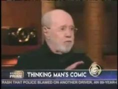 George Carlin tells the public how it is - YouTube