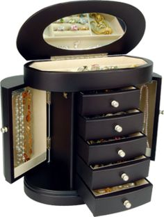 I want this jewelery box so badly! Jewellery Storage, Jewelry Box, Jewelery, Custom Wooden Boxes, Toys R Us Canada, Small Boxes, Casket, Trinket Boxes, Diy And Crafts