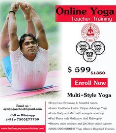 Grab the opportunity... #yoga #onlineyoga #yogateacher #yogatraining #yogaforall #yogapractice #onlineyogatraining #yogattc #india #rishikesh #AYMYogaSchool