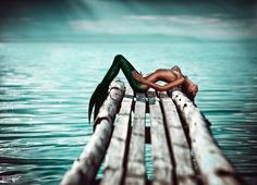 mermaid, warf, ocean,sea, blue, green, beautiful, tail, fairy tale, mystic, fantasy art