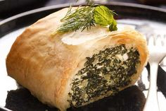 *Silverbeet and ricotta pie - silverbeet is also known as swiss chard