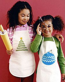 aprons for little helpers.