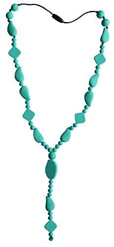 Stella Mamma 2015 design. 'A mother's hope' Turquoise. Safety clasp will break away when someone pull hard. For moms, people get allergic reaction from metal jewelry or have very sensitive skin To buy -> http://lastellamamma.com/collections/2015/products/a-mothers-hope-turqouise