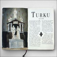 #sketchbook #layout #Turku by Petri Fills