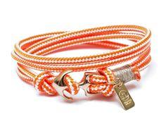 #lechatvivi #ancor #bracelet #ancorbracelet #orange Ancor bracelet by LeChatVIVI BERLIN® with nice colour orange www.lechatvivi-berlin.com