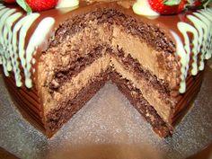 Tort cu ciocolata – Flori's Kitchen Something Sweet, Sweets, Cake, Desserts, Tailgate Desserts, Deserts, Goodies, Mudpie, Dessert