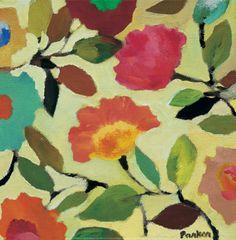 Floral Tile IV Print by Kim Parker at AllPosters.com