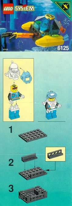 Aquazone - Sea Sprint 9  [Lego 6125]