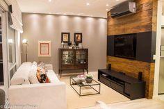 CasaPRO: madeira de demolição é destaque neste home theater - Casa