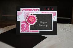 Handmade Birthday Card - BLANK Inside. $5.00, via Etsy.