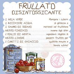 FRULLATO DISINTOSSICANTE