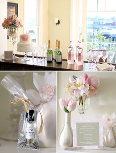 Coco Chanel baby shower, but would be a really cute bridal shower too!