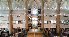 Una iglesia holandesa se convierte en una increíble librería # Alrededor del mundo nos podemos encontrar con librerías de lo más curioso, algunas de las cuales destacan por su ubicación, por la cantidad de libros que albergan en su interior o por otros muchos motivos ... »