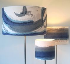Watercolour Lampshades -Dionne Swift
