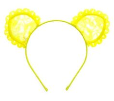 Maison Michel Heidi Lace Cat Ear Headband