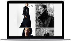 Website and logo for photographer Hasse Nielsen. Design by Homework ©hassenielsen.com