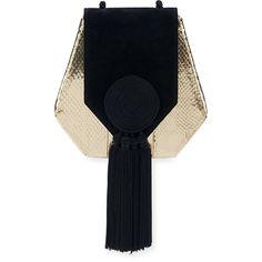 114ea762ebae SAINT LAURENT Monogram Envelope Quilted-Leather Cross-Body Bag ...
