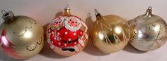 Shiny Brite, fancy, Glass ornaments, 1950s Christmas, USA, Germany, Christmas Decorations, Christmas ornaments, antique, Glass Decorations by DeliciasCastle on Etsy