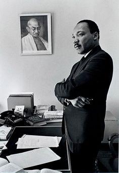 M.L.King.         photo by Bob Fitch
