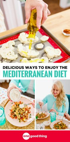 A healthy way of eating that's actually enjoyable? Get the scoop on the Mediterranean Diet, and use this simple Mediterranean diet shopping list to get everything you need to start better at home. #mediterraneandiet #ad