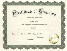 Nice Training Certificate Templates For Word | Download Certificate Of Training  Free Template Throughout Free Training Certificate Template