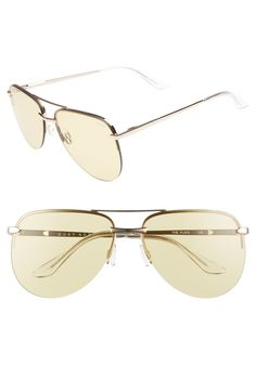 cdf1c4921482 Quay Australia The Playa 64mm Aviator Sunglasses