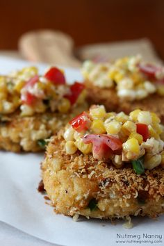 Crab Cakes with Sweet Corn Relish