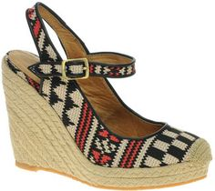 ShopStyle: Bertie Catalina Tapestry Espadrille Wedges
