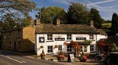 The Swan Inn, a 15th-century pub in Kettleshulme, Peak District, England