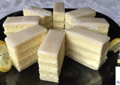 Citrom szelet 2 | Horváth Szilvia receptje - Cookpad receptek Cheesecake, Dios, Cheesecakes, Cherry Cheesecake Shooters