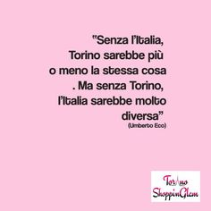 #torinoèlamiacittà #eco #italia
