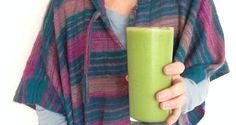 Uplifting Raw Vegan Orange Basil Green Smoothie - nutrient dense and takes only minutes to prepare!