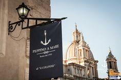 La nuova realtà di Peppino a Mare a Piazza Navona   http://www.mipiaceroma.it/notizie/la-nuova-realta-di-peppino-a-mare-a-piazza-navona