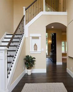 On Pinterest White Trim Chocolate Brown Walls And Chocolate Brown