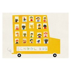 Affiche School Bus